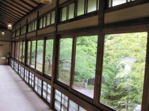 落合楼 大広間・紫檀の間の廊下