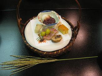 湯河原 上野屋 十三夜前菜