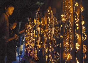 灯りの祭典イメージ写真